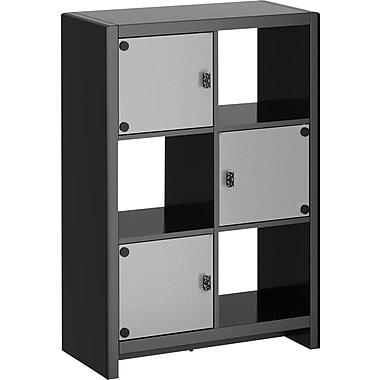 kathy ireland by Bush® New York Skyline 6 Cube Storage, Mocha