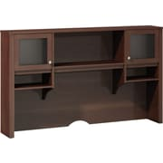 "kathy ireland® by Bush® Grand Expressions 66"" Hutch, Warm Molasses"
