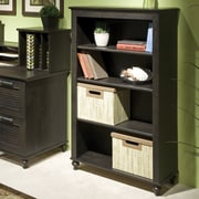 kathy ireland® Office by Bush Furniture Volcano Dusk 4 Shelf Bookcase, Kona Coast (KI30221-03)
