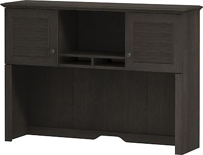 kathy ireland Volcano Dusk by Bush Furniture 51W Hutch, Espresso