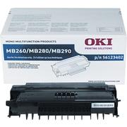 Okidata 56123402 Toner, 5,500 Page Yield, Black