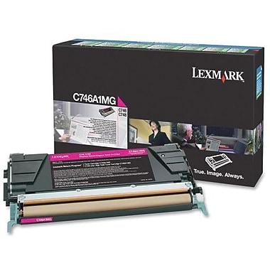 Lexmark Magenta Toner Cartridge (C746A1MG), Return Program