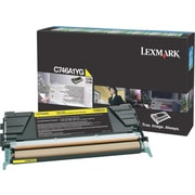 Lexmark Yellow Toner Cartridge (C746A1YG), Return Program
