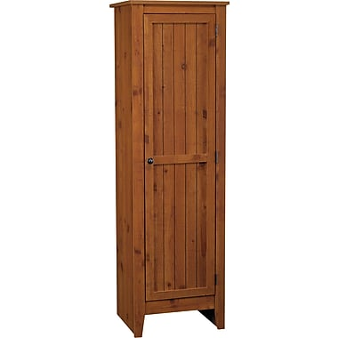 Milford Single Door Storage Pantry Cabinet, Old Fashioned Pine