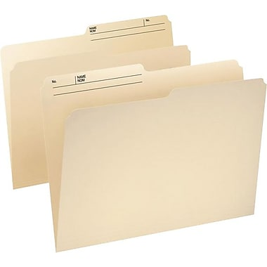 Pendaflex® CutLess® WaterShed® File Folder, Legal, Manila