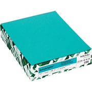 "ASTROBRIGHTS Cardstock, 8 1/2"" x 11"", 65 lb., Terrestrial Teal, 250 sheets"