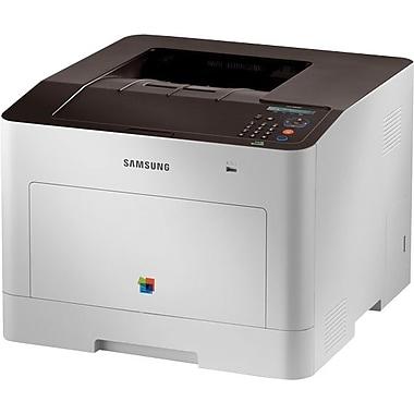 Samsung – Imprimante laser couleur prête pour le réseau avec recto verso (CLP-680ND)