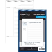 "TOPS® FocusNotes Steno Pad, 6"" x 9"", Project Ruled, White, 80 Sheets (90222)"