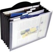 Globe-Weis® - Classeur en poly portable, 7 poches