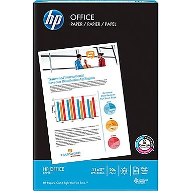 HP® – Papier à copies Office, 20 lb, 11 po x 17 po, rame