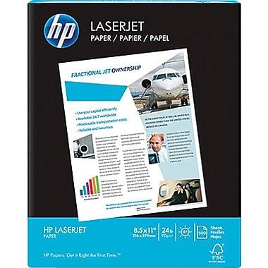 HP® - Papier Laser Jet certifié FSC, 24 lb, 8 1/2 po x 11 po, rame