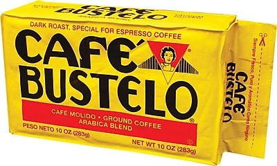 Cafe Bustelo® Espresso Coffee, 10 oz. Brick