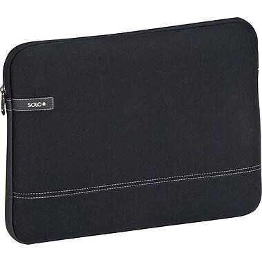 Solo Urban CheckFast Laptop Sleeve, Black (VTR161-4)