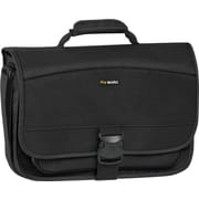 "SOLO Classic 15.6"" Expandable Messenger Bag, Black"