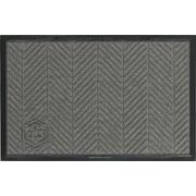 M + A Matting Waterhog™ Eco Elite Mat, 4' x 6', Grey Ash, Cleated (2240730046070)