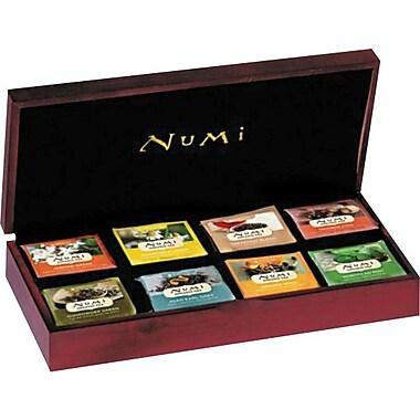 Numi® Velvet-Lined Tea Chest, Mahogany