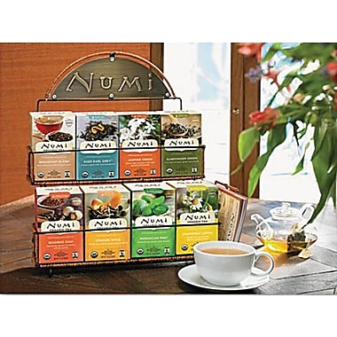 Numi® Tea Rack Starter Kit with 24 Boxes of Tea