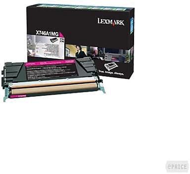 Lexmark Magenta Toner Cartridge (X746A1MG), Return Program