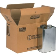 8.88''x6.63''x10.25'' Hazmat Shipping Box, 350#/ECT, 20/Bundle (HAZ1022)