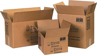 11.38''x8.19''x12.38'' Hazmat Shipping Box, 275#/ECT, 20/Bundle (HAZ1048)