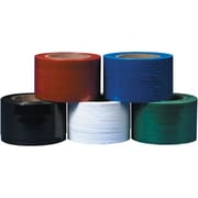 "Staples 3"" x 80 Gauge x 1000' Black Bundling Stretch Film, 18/Case"
