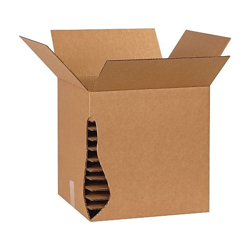 """The Packaging Wholesalers 15-7/8"""" x 15-7/8"""" Corrugated Layer Pad"""