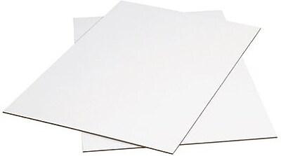 Bundle of 5 24 Length x 24 Width Kraft Aviditi SP2424 Single-Wall Corrugated Sheet