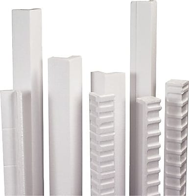 Cased 0.12 Pack of 25 3 x 3 x 72 Partners Brand PEP3372120BX Edge Protectors White