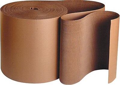 Staples Singleface Corrugated Roll, 4