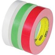 "3M 256 Flatback Tape, White, 1/2"" x 60 yds., 72 Rolls"