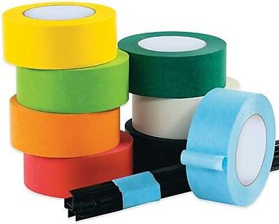 InterTape™ Industrial Masking Tape, White, 3/4