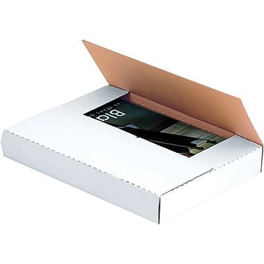 Staples White Easy-Fold Mailers
