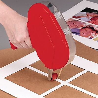 Industrial Heavy-Duty Adhesive Transfer Tape-Hand Rolls,1/2
