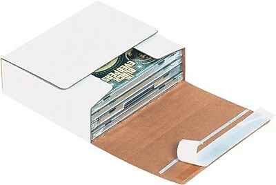 Partners Brand Self-Seal CD Mailers, 5 3/4