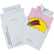 "5 1/8"" x 5"" Tyvek® Lined CD Mailers, 100/Case"