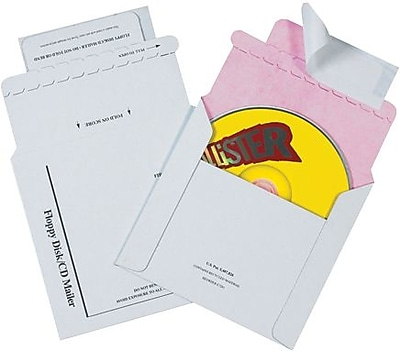 Tyvek® Lined CD Mailers, 5 1/8