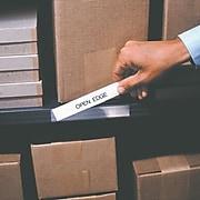 "Open-Edge™ Plastic Label Holder, 2"" x 6"", 50/Case"