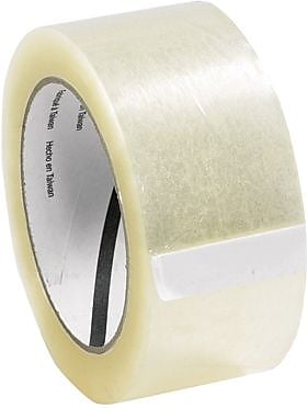 3M 311 Carton Sealing Tape, Clear, 3
