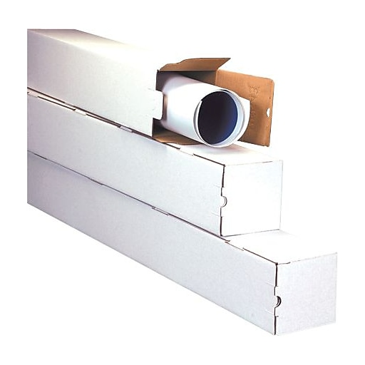 """The Packaging Wholesalers 5"""" x 5"""" x 37"""" Square Tube"""