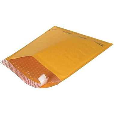 Self-Seal #00 Bubble Mailers, Kraft, 4-7/8
