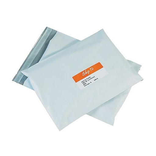 staples poly mailers 12 x 15 1 2 50 case staples