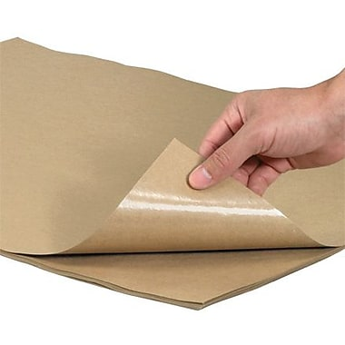 Staples Poly Coated Kraft Paper Sheets, 50-lb