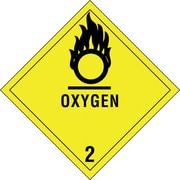 """Oxygen - 2"""" Shipping Label, 4"""" x 4"""", 500/Roll"""