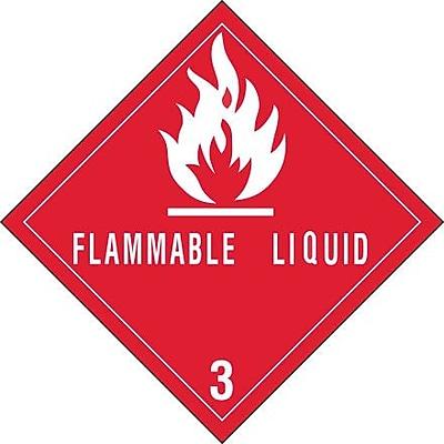 Tape Logic Flammable Liquids - 3
