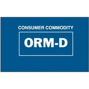 "Tape Logic Consumer Commodity ORM-D Shipping Label, 1 3/8"" x 2 1/4"", 500/Roll"
