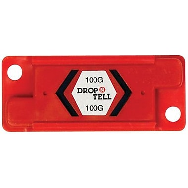 Resettable Drop-N-Tell Indicator, 100G, 25/Case