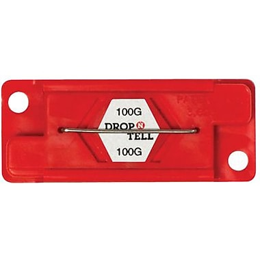 Drop-N-Tell Indicator, 100G, 25/Case