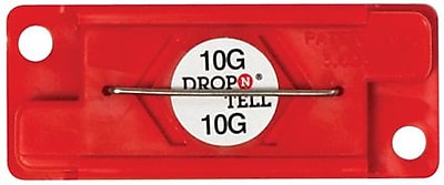 Drop-N-Tell Indicator, 10G, 25/Case