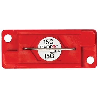 Drop-N-Tell Indicator, 15G, 25/Case
