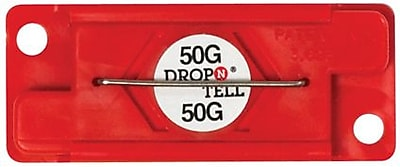 Drop-N-Tell Indicator, 50G, 25/Case